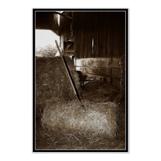 Hay & Pitchfork Posters