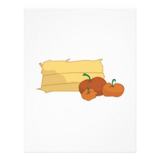 Hay & Pumpkins Customized Letterhead