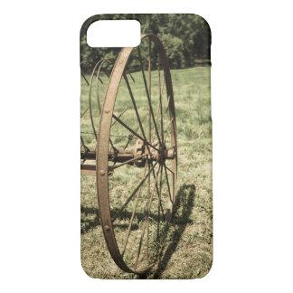 Hay Rake Wheel Aged iPhone 7 Case