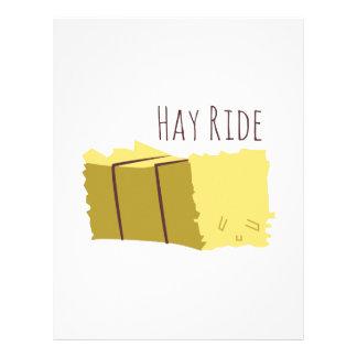 Hay Ride Custom Letterhead