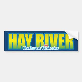 Hay River Bumper Bumper Sticker