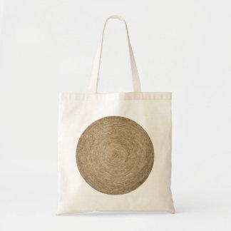 Hay Roll Tote Bag
