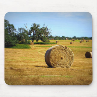 Hay Rolls Mouse Pad
