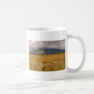Hay Rolls Coffee Mugs