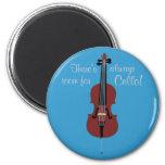 ¡Hay siempre sitio para el violoncelo! Imán Para Frigorifico
