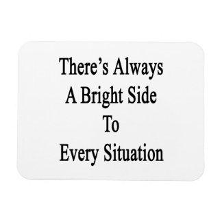 Hay siempre una parte positiva a cada situación iman rectangular