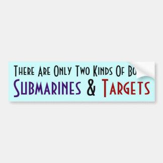 Hay solamente dos clases de barcos… pegatina de parachoque