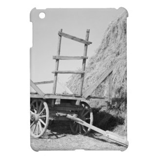 Hay stack and wagon – 1939. cover for the iPad mini