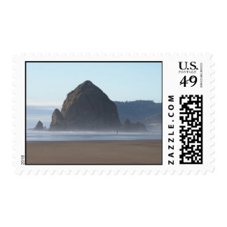 Hay Stack Postage Stamp