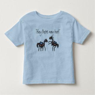 Hay there nay-bor toddler t-shirt
