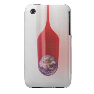 Hay tierra en el termómetro iPhone 3 protector