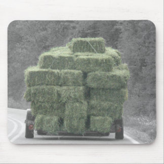 hay truck 2 mouse pad