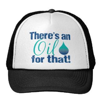 Hay un aceite para ese trullo azul gorra