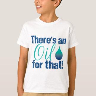 Hay un aceite para ese trullo azul playera