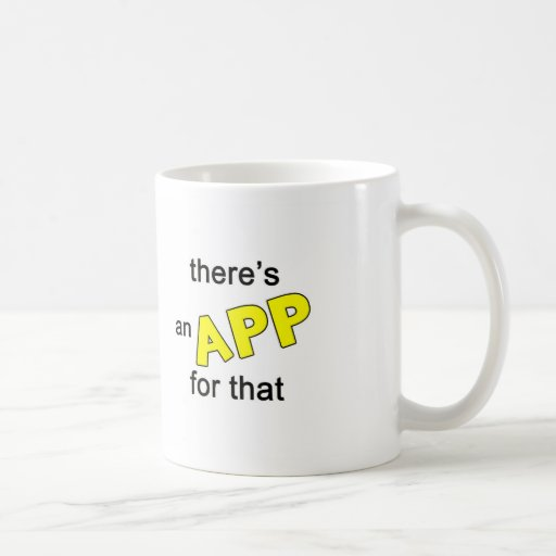 Hay un App para eso Taza Básica Blanca