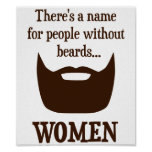Hay un nombre para la gente sin las barbas… póster