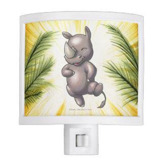 Hay un nuevo rinoceronte en Nightlight de la Luz De Noche