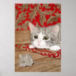 ¡Hay un ratón en la casa! Poster