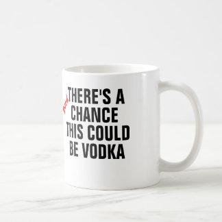 Hay una buena ocasión que ésta podría ser vodka taza básica blanca