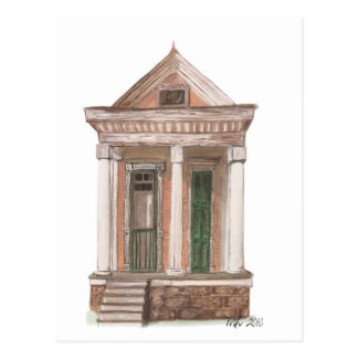 Hay una casa postales