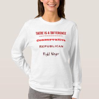 HAY una diferencia - conservador Playera