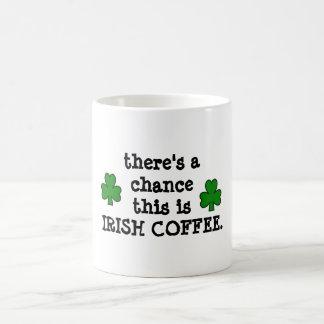 hay una ocasión… para el café irlandés taza clásica