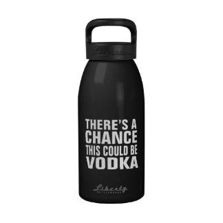 Hay una ocasión que ésta podría ser vodka botellas de beber