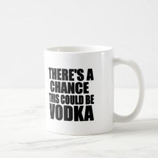 Hay una ocasión que ésta podría ser vodka taza básica blanca