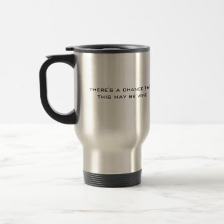 Hay una ocasión que éste puede ser vino taza de viaje de acero inoxidable