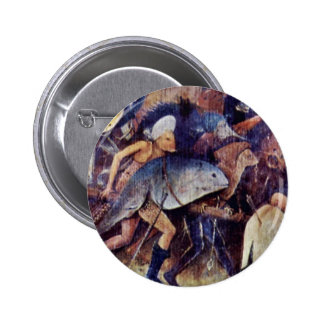 Hay Wain Triptych Central Panel: The Hay Wain Deta Buttons