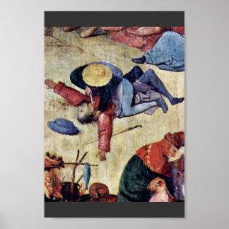Hay Wain Triptych Central Panel: The Hay Wain Deta Print