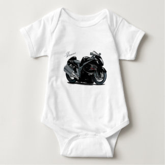 Hayabusa Black Bike Baby Bodysuit