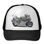 Hayabusa Grey Bike Mesh Hats