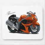 Hayabusa Orange Bike Mousepads