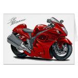 Hayabusa Red Bike Card