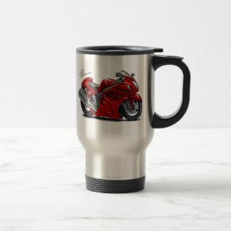 Hayabusa Red Bike Travel Mug