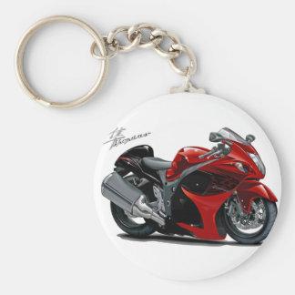 Hayabusa Red-Black Bike Keychains