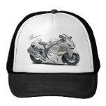 Hayabusa White Bike Trucker Hat