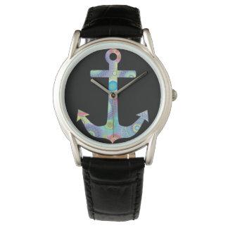 Hayden collection, vintage, leather, men's watch !