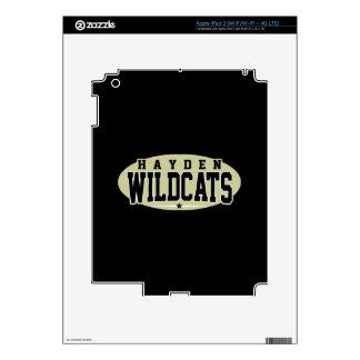 Hayden High School; Wildcats iPad 3 Skins