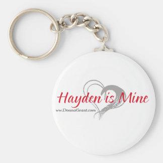 Hayden Key Chains