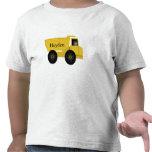 Hayden personalizó la camisa del camión