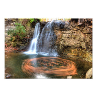 Hayden Run Falls, Columbus, Ohio Photo Print