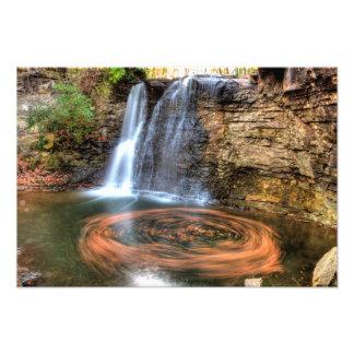 Hayden Run Falls, Columbus, Ohio Photograph
