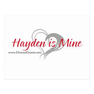 Hayden Postales