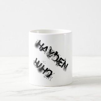 Hayden Who Transforming Mug