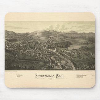 Haydenville Massachusetts (1886) Mouse Pad