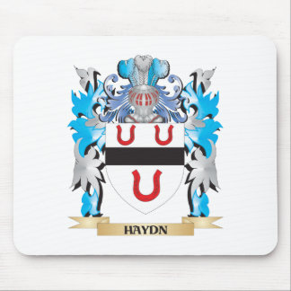Haydn Coat of Arms - Family Crest Mousepads