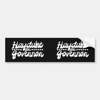 Hayduke for Governor Bumper Sticker
