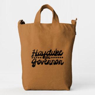 Hayduke para el gobernador bolsa de lona duck